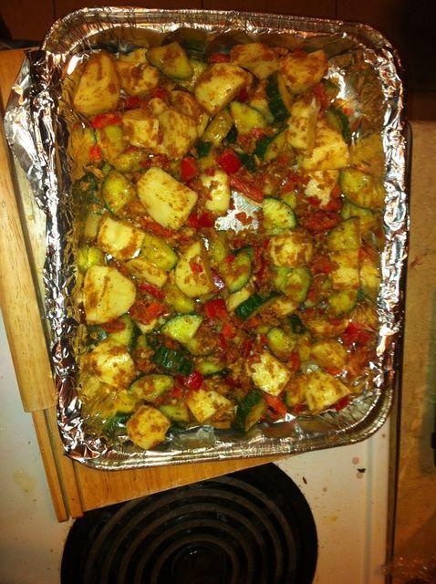 Cómo cocinar pepinos y patata Receta Hornear