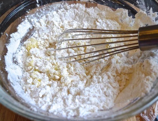 Mezclado los ingredientes bien.