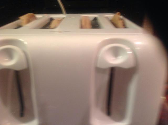 Asegúrese de que su tostada es caliente