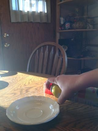 Rocíe el spray antiadherente