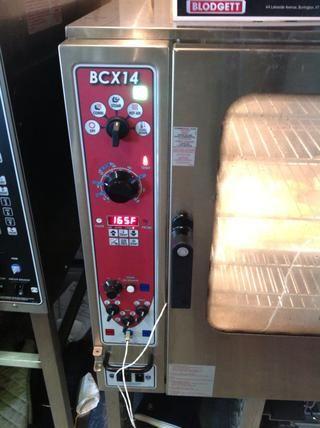 Establecer Blodgett Combi al modo de vapor a 212F y establecer la sonda TC a la temperatura deseada. (Yo usé 165F)