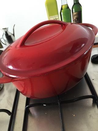 Cocer a fuego lento (el gass en el nivel más bajo)