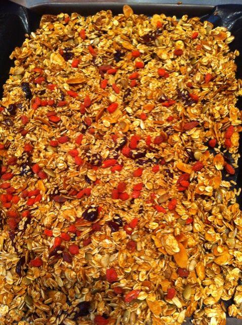 Cómo cocinar la receta Granola