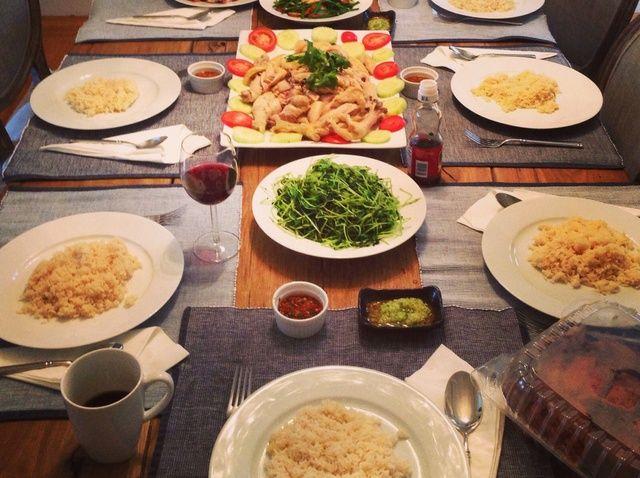 Cómo cocinar la receta de Pollo con arroz de Hainan