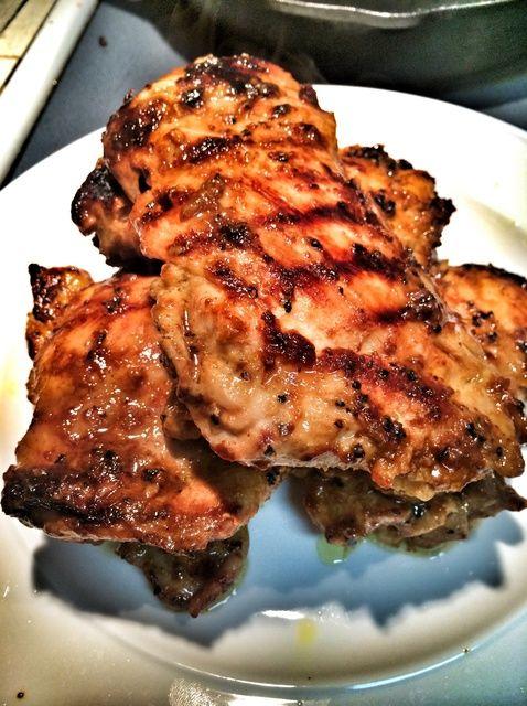 Cómo cocinar miel mostaza pollo Receta