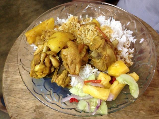 Pollo al curry listo !!! ¿¿¿¿¿¿Disfrutar??????