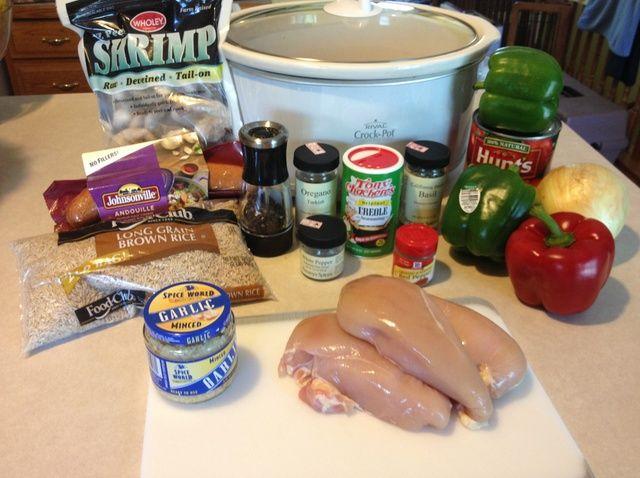 Cómo cocinar Jambalaya en una Receta Crockpot