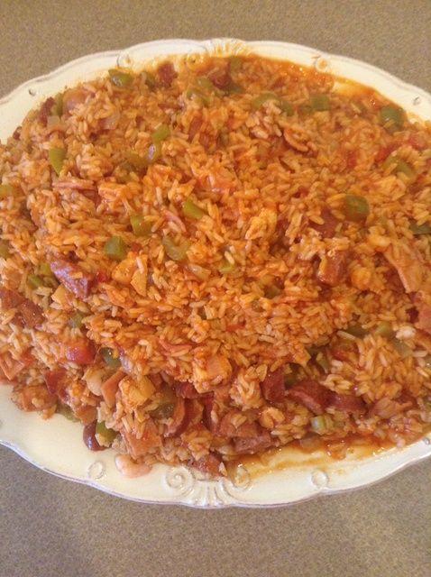 Cómo cocinar la receta de Jambalaya