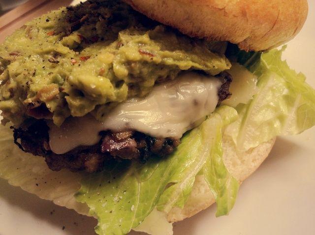 Cómo cocinar Juicy cal y Cilantro hamburguesas Receta