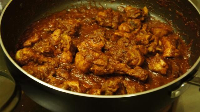 Eso's it Kadai chicken is ready to eat...