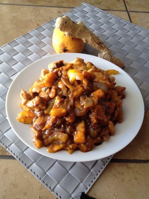 Cómo cocinar Malasia Mango Curry de pollo Receta
