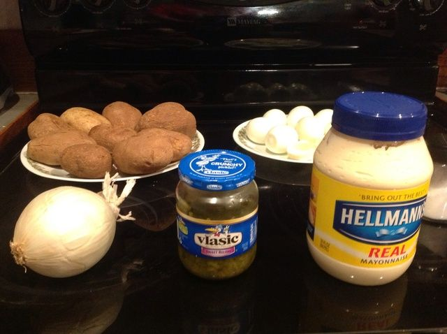 Cómo cocinar mamá's Homemade Potato Salad Recipe