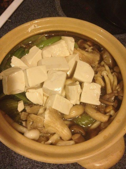 Cómo cocinar Mushroom Tofu pote de arcilla Receta
