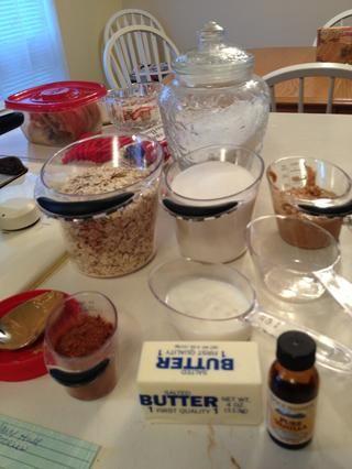 Por esta mido mis ingredientes a cabo en primer lugar porque se trata de una receta de ritmo rápido.