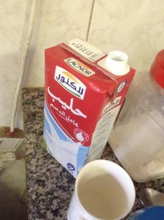 Añadir media taza de leche