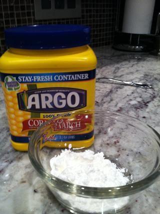 Hacer una suspensión para espesar la salsa