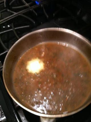 Añadir la mantequilla sin sal