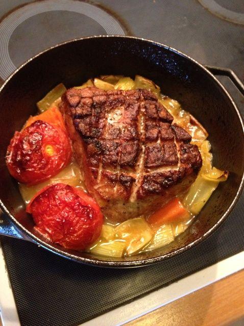 Cómo cocinar cerdo asado Receta