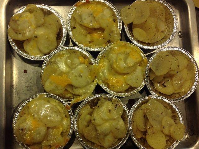 Cómo cocinar Copas patata Receta