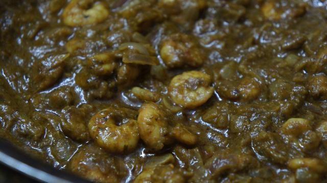Ahora que's it Prawns Chilli Garlic Curry is ready n tastes Owsum!!! �������� I'm lovi'n it!!!