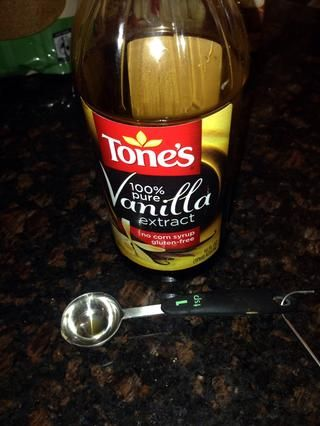 Tiempo para el 1 cucharadita de extracto de vainilla