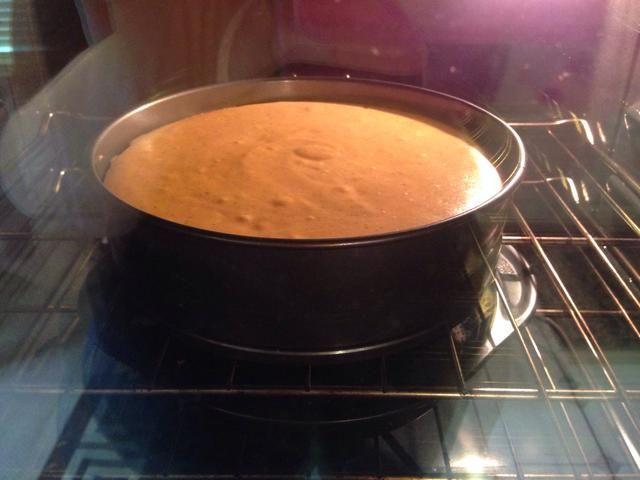 Hornear ininterrumpida en el horno a 350 grados, puede't wait to enjoy this dessert.