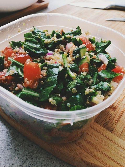 Cómo cocinar la quinoa Tabulé Receta