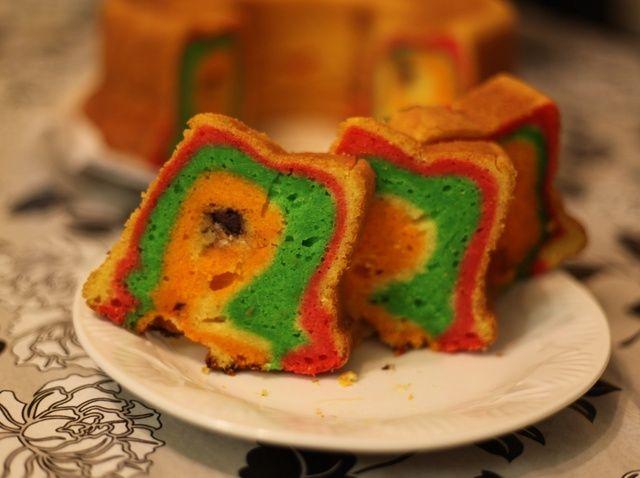 Cómo cocinar Rainbow Cake Con Micho Receta