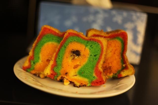 Los arco iris, arco iris, arco iris por todas partes. :) Así que ahí tenemos otro postre colorido convertir aburrido emocionante para su próxima reunión de café.