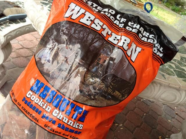 yo'm not a big fan of wood chips for generating that smoky flavor typical of real BBQ. I use real wood chunks in place of charcoal. 1 10 lb bag this size is enough to complete a 3 hour rib session.