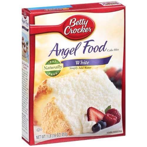 La otra caja de mezcla deberá ser pastel de ángel. Doesn't work correctly if you don't use this.
