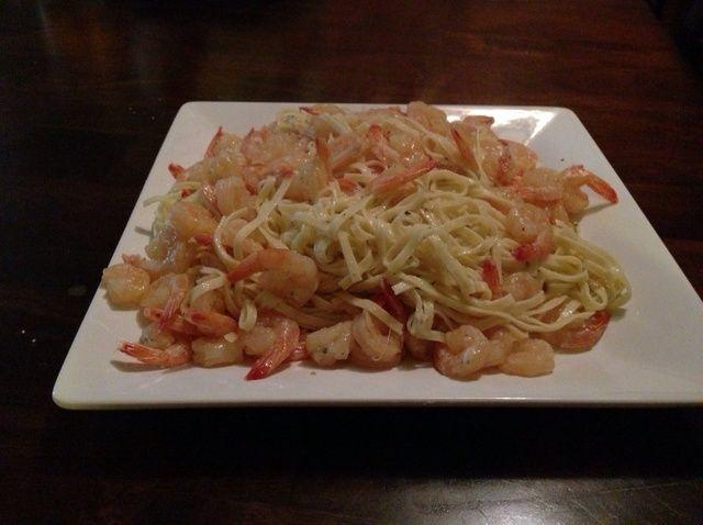 Cómo cocinar Sexy Receta Linguine del camarón