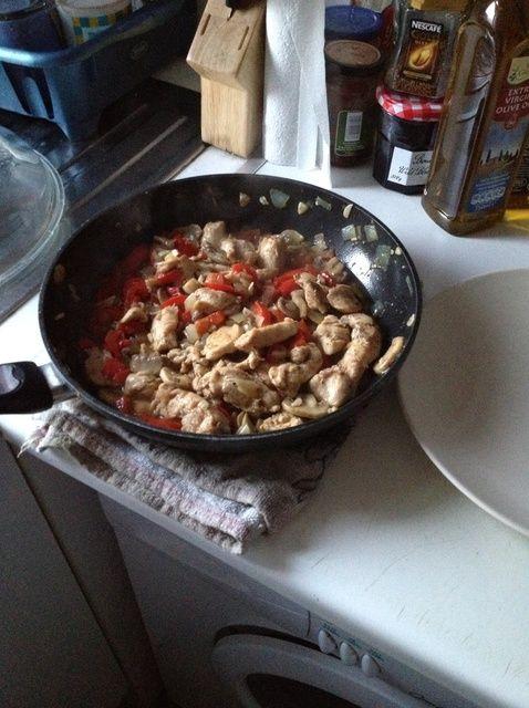 Cómo cocinar rodajas de pollo Plato de Mama - Receta de Cocina Italiana