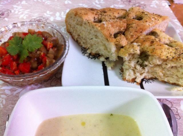 Servir con pan casero y caviar de berenjena!