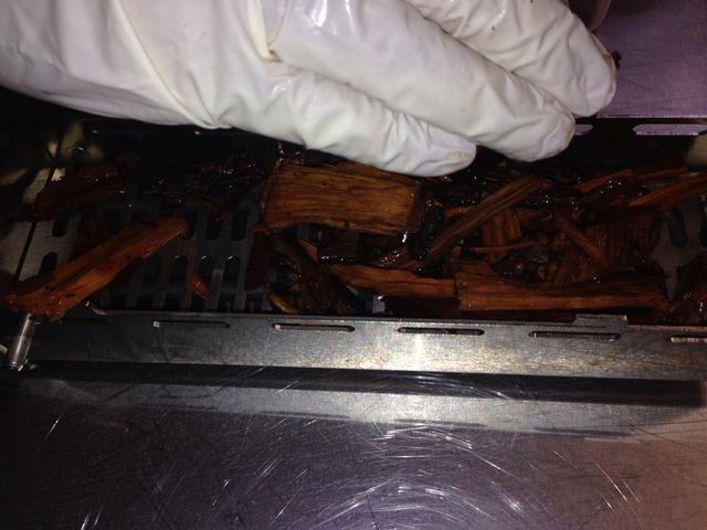 Coloque las fichas en la caja Fumador Sabor Blodgett