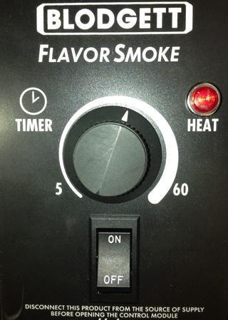 Establecer Blodgett Sabor temporizador calor Fumador de 30 min