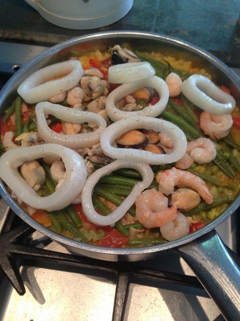 Cómo cocinar Paella español fácil y rápidamente. Receta