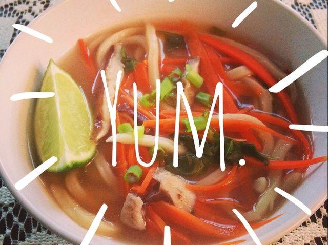 Cómo cocinar picante Receta Lime Pho sopa de fideos