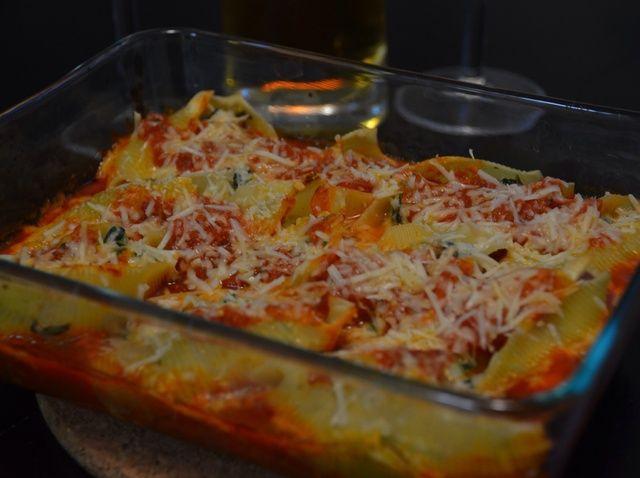 Cómo cocinar las cáscaras de las pastas rellenas Jumbo! Receta