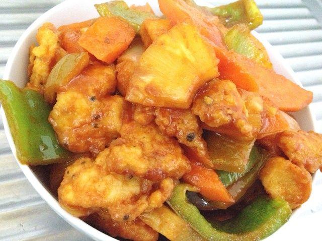 Cómo cocinar la receta de Dulce y amargo pollo