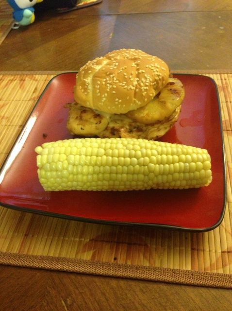 Cómo cocinar Teriyaki Grilled Chicken Sandwich en ~ 30m! Receta