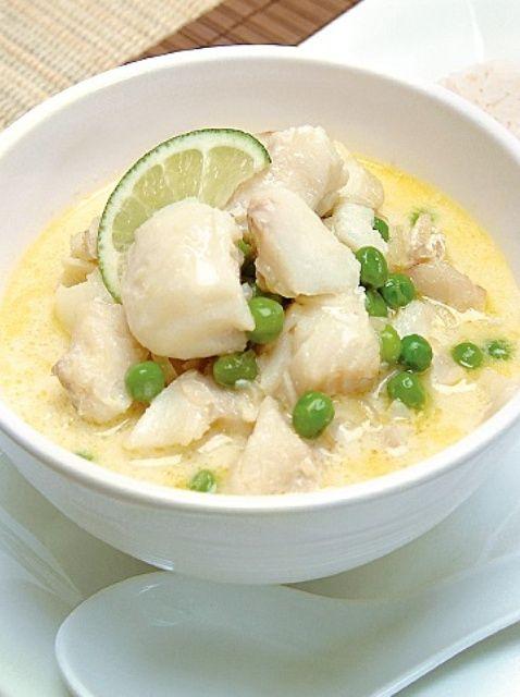 Cómo cocinar Thai Coconut Curry Pescado Receta
