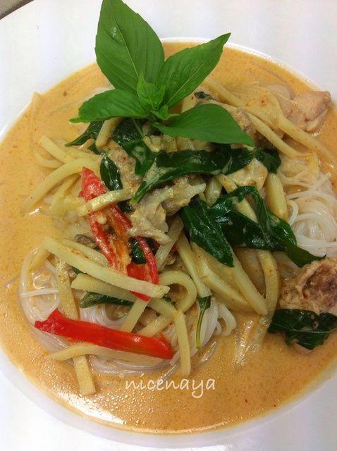 Cómo cocinar tailandés Curry rojo de pollo Receta
