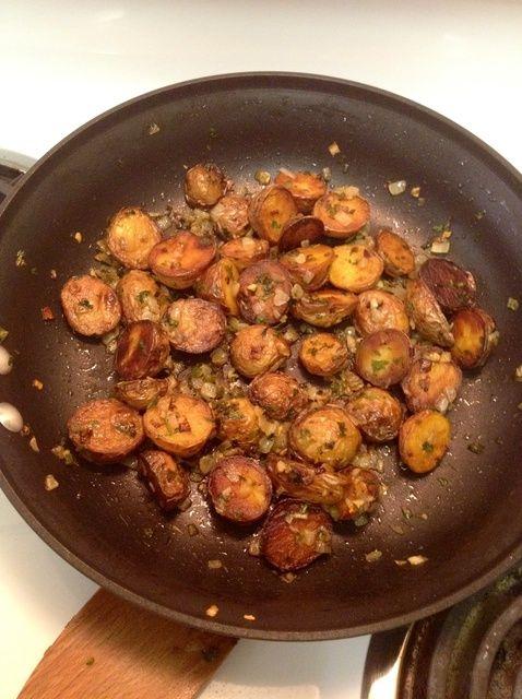 Cómo cocinar la receta más deliciosa Salteado Sartén Patatas
