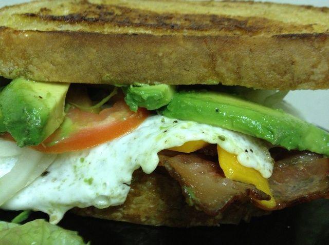 Cómo cocinar el sándwich Receta último desayuno