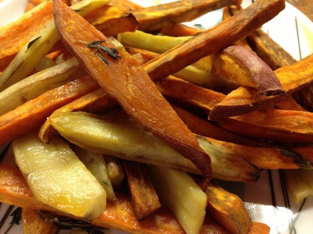 Cómo cocinar Tomillo batatas fritas Receta