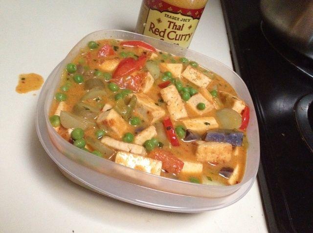 Cómo cocinar tofu Roja Tailandesa Curry Receta