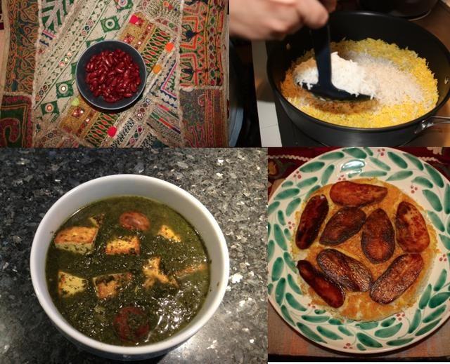 Servir con arroz! #SabziStew Es un persa y plato tradicional servido w / arroz. Uno de los platos más populares en Irán. Versiones veganas hoy se están convirtiendo poco a poco popular.