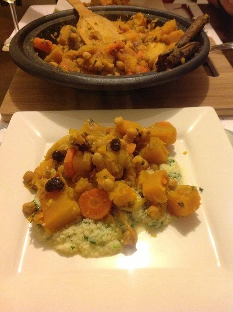 Cómo cocinar Vegetariana Tagine Receta