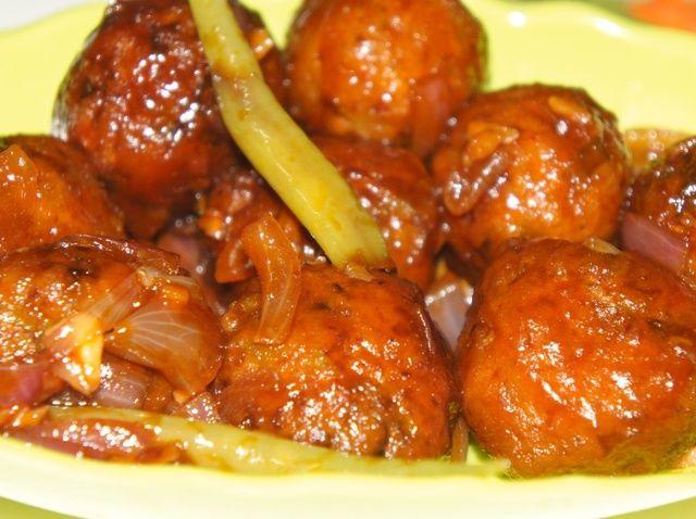 Cómo cocinar Veggie Manchuria Receta